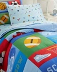 Olive Kids Game On Full Comforter Set by