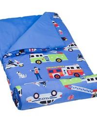 Olive Kids Heroes Microfiber Sleeping Bag by