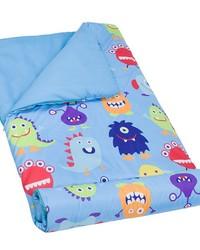 Olive Kids Monsters Microfiber Sleeping Bag by