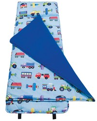 Olive Kids Trains Planes Trucks  Nap Mat by