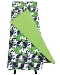 Green Camo Nap Mat by