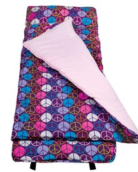 Peace Signs Purple Nap Mat by
