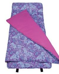 Watercolor Ponies Purple Nap Mat by