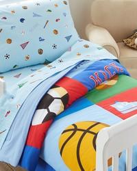 Olive Kids Game On Toddler Comforter by