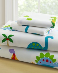 Olive Kids Dinosaur Land Twin Sheet Set  by