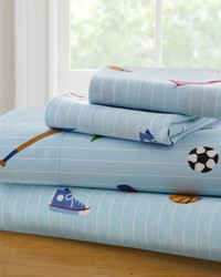 Olive Kids Game On Twin Sheet Set  by