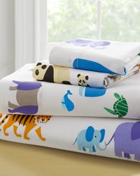 Olive Kids Endangered Animals Twin Sheet Set  by