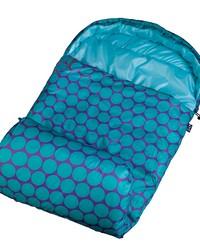 Big Dot Aqua Stay Warm Sleeping Bag by