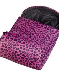 Pink Leopard Stay Warm Sleeping Bag by