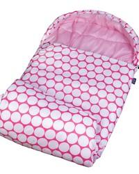 Big Dot Pink & White Stay Warm Sleeping Bag by