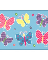 Olive Kids Butterfly Garden 39x58 Rug by