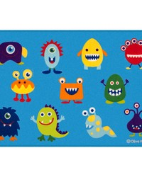 Olive Kids Monsters 39x58 Rug by