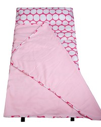 Big Dot Pink & White Easy Clean Nap Mat by
