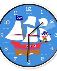 Olive Kids Pirates Wall Clock by