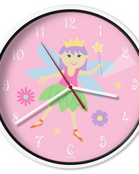 Olive Kids Fairy Princess Wall Clock by