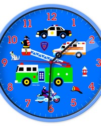 Olive Kids Heroes Wall Clock by