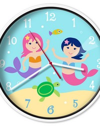 Olive Kids Mermaids Wall Clock by