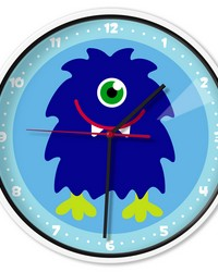 Olive Kids Monsters Wall Clock by
