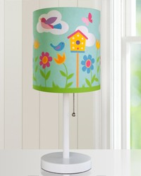 Olive Kids Birdie Cylinder Lamp by