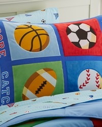 Olive Kids Game On Pillow Sham by