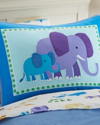 Olive Kids Endangered Animals Pillow Sham by