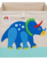 Olive Kids Dinosaur Land Storage Cube by