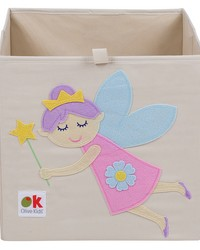 Olive Kids Fairy Princess Storage Cube by