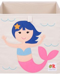 Olive Kids Mermaids Storage Cube by