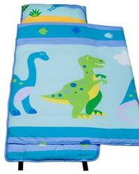 Olive Kids Dinosaur Land Cotton Nap Mat Blue by