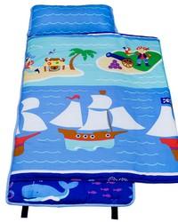Olive Kids Pirates Cotton Nap Mat Blue by