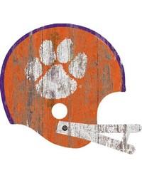 Clemson Tigers Helmet Wall Art by