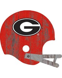 Georgia Bulldogs Helmet Wall Art by