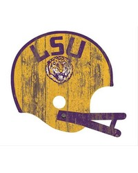 Louisiana State Tigers Helmet Wall Art by