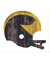 Michigan Wolverines Helmet Wall Art by