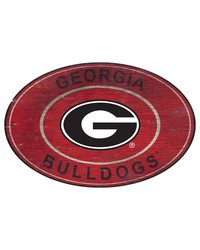 Georgia Bulldogs 46 Inch Wall Art by