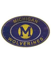Michigan Wolverines 46 Inch Wall Art by