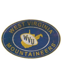 West Virginia Mountaineers 46 Inch Wall Art by