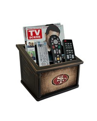 San Francisco 49ers Media Organizer by