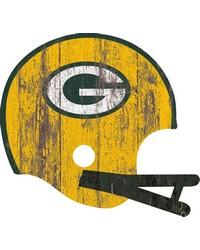 Green Bay Packers Helmet Wall Art by