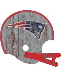New England Patriots Helmet Wall Art by