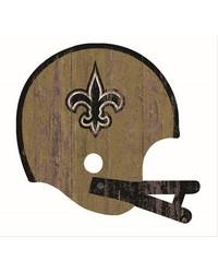 New Orleans Saints Helmet Wall Art by