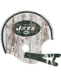 New York Jets Helmet Wall Art by