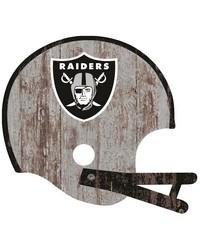 Oakland Raiders Helmet Wall Art by