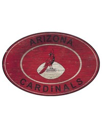 Arizona Cardinals 46 Inch Wall Art by
