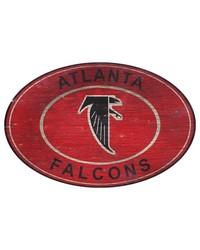 Atlanta Falcons 46 Inch Wall Art by