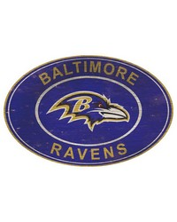 Baltimore Ravens 46 Inch Wall Art by
