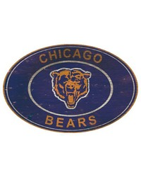 Chicago Bears 46 Inch Wall Art by