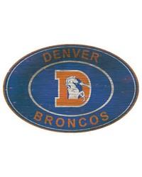 Denver Broncos 46 Inch Wall Art by