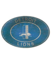 Detroit Lions 46 Inch Wall Art by