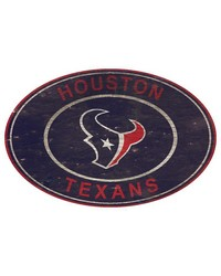 Houston Texans 46 Inch Wall Art by